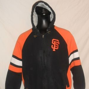San Francisco Giants Hooded Jacket Size XL